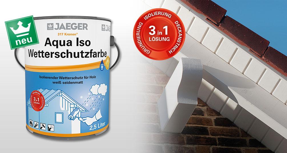 Fabulous Wetterschutzfarbe 3 in 1: Grundierung, Isolierung und Decklack RQ27