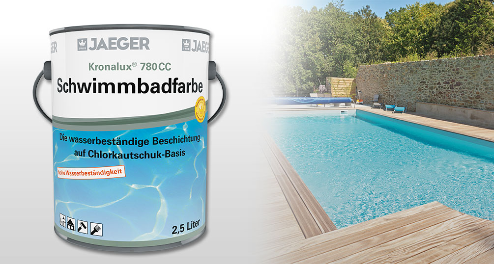 Swimming pool coating with Kronalux® Swimming Pool Paint ...
