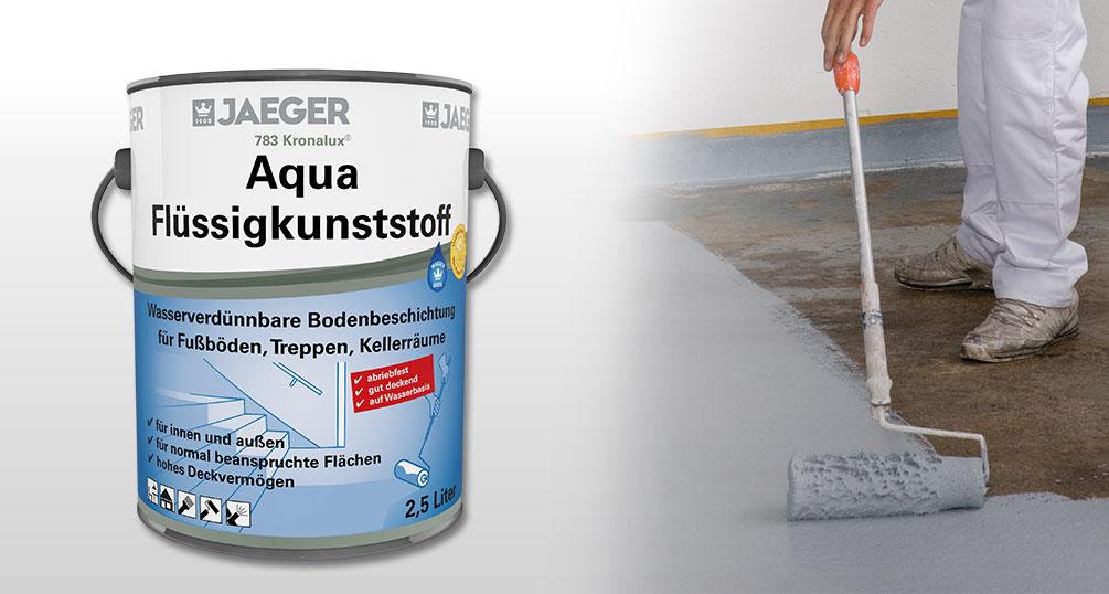Fußboden Farbe ~ Fußbodenfarbe kronalux aqua flüssigkunststoff jaeger