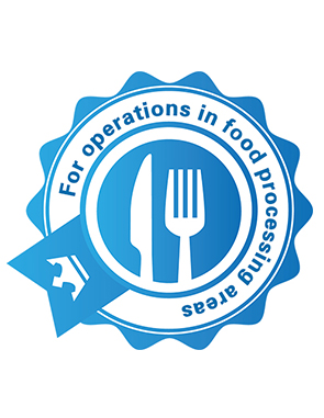 For operations in food processing areas