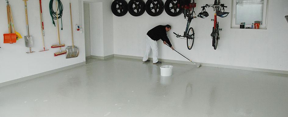 Extrem Bodenbeschichtung für Garagen, Keller, Industrieböden - JAEGER AT78