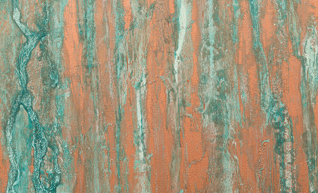 Kupfer Patina copper paint with verdigris copper patina effect jaeger
